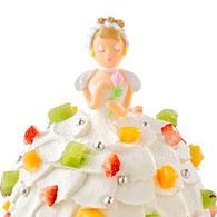 大人の女性も思わず「かわいい」と声を上げてしまうようなケーキ