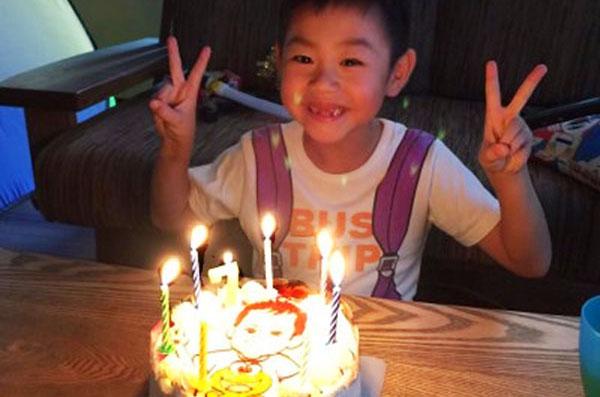【ありがとうの声】イラストケーキでお子さまが喜ぶお誕生日祝い♪