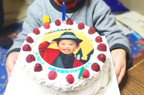 【ありがとうの声】写真ケーキで大切な人に喜ばれる素敵な誕生日に♪