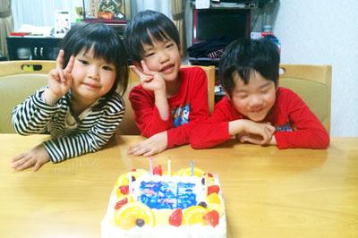 【ありがとうの声】オンリーワンの写真ケーキで思い出深い誕生日に♪