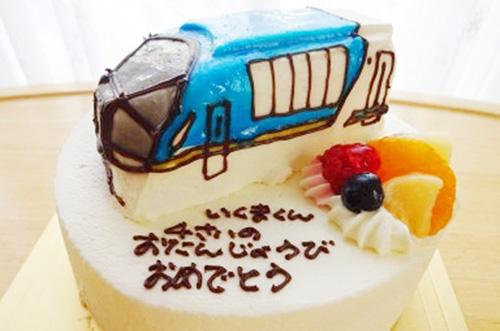 【ありがとうの声】立体の乗り物ケーキで子供が喜ぶ誕生日祝いに♪