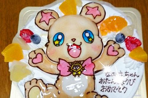 【ありがとうの声】立体イラストケーキで大喜びの誕生日祝いに!