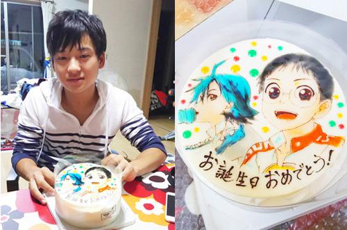 【突撃!隣のお祝い】息子さんの誕生日にイラストケーキのサプライズ