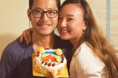 大人気インスタグラマーANNAさんが写真ケーキで結婚記念日をお祝い♡