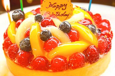 タルトの誕生日ケーキはお取り寄せが人気?!