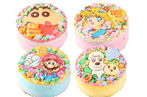誕生日ケーキにおすすめ!人気のイラストケーキ・似顔絵ケーキ16選