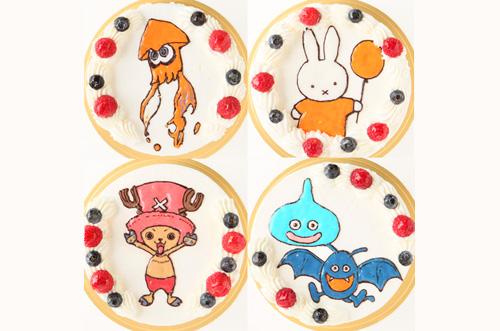 安いキャラクターケーキを比較!おすすめケーキ20選!