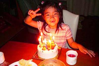 【ありがとうの声】おいしい誕生日ケーキで思い出ができました♪