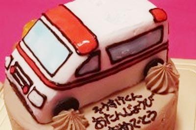 【ありがとうの声】乗り物の誕生日ケーキで子供も大人も大喜び♪