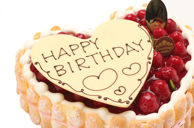10人分のバースデーケーキ♪7号ホールケーキで誕生日祝いを♪