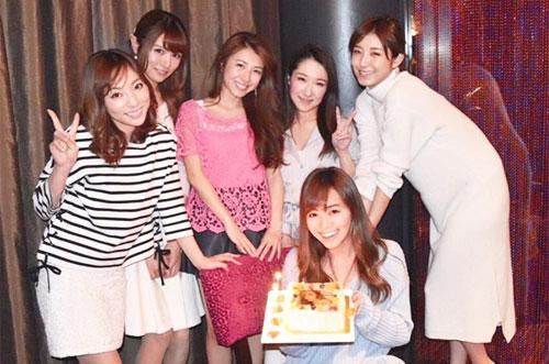 雑誌JELLY専属モデル広瀬 麻伊さんの誕生日を写真ケーキでお祝い♡
