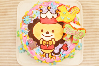 ブランティーグルのキャラクターケーキでかわいすぎる誕生日会に?!