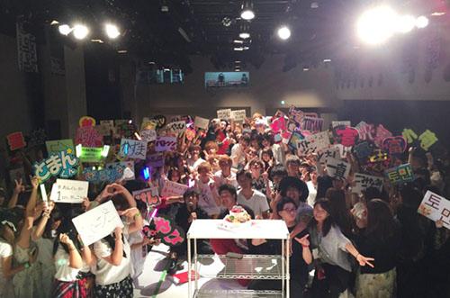 【人気モデル大集結】アドフェス!にパーティーケーキのサプライズ