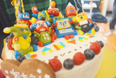 【NPO法人CANVASさま】超3D立体ケーキでの退職祝い!