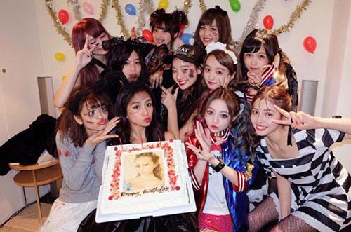 【サプライズ】古泉千里さんの19歳バースデーに人気モデルが大集結♡