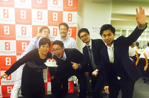 【ファイナンシャル・ジャパン株式会社さま】定番ケーキで誕生日祝い