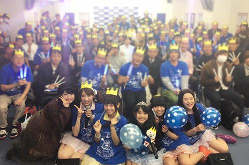 【人気アイドル】ベボガ!樋口彩さん生誕祭にサプライズケーキ♡