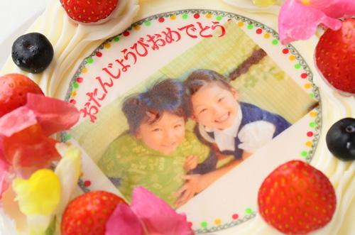 【冷蔵配送!】ハナビシの写真ケーキのクオリティがすごい!