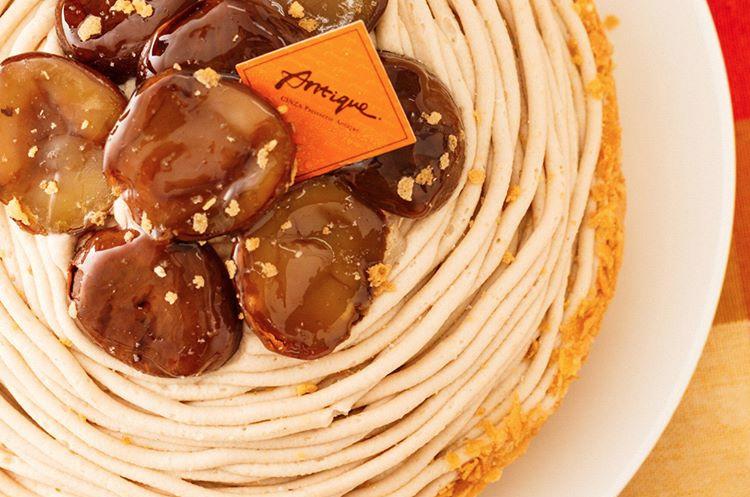 モンブランの誕生日ケーキが人気!ホールサイズのモンブラン14選
