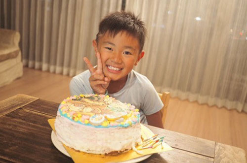 【素敵サプライズ】内田新菜さんが息子さんに贈ったケーキに注目♡