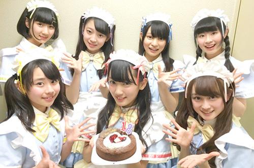 ノンシュガー・栗野春香さんお誕生日会をガトーショコラでお祝い