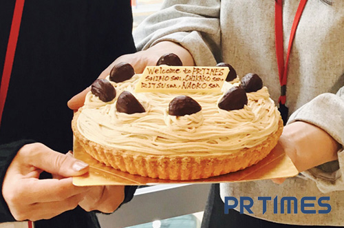 【株式会社 PR TIMESさま】社員の方に想い伝わるケーキサプライズ