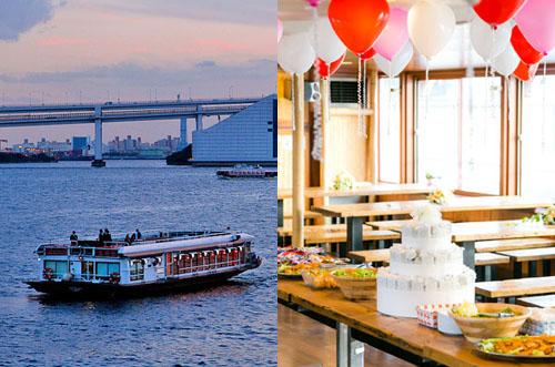 【東京湾×クルーズ】フロンティアルーツで満喫する海上パーティー