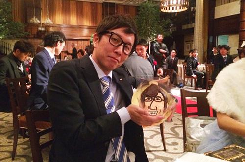 【総合商社A社さま】立体ケーキで上司へのお祝いサプライズが成功♪