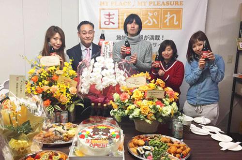 【サイン・コンサルティング株式会社さま】ケーキで新事業開設祝い