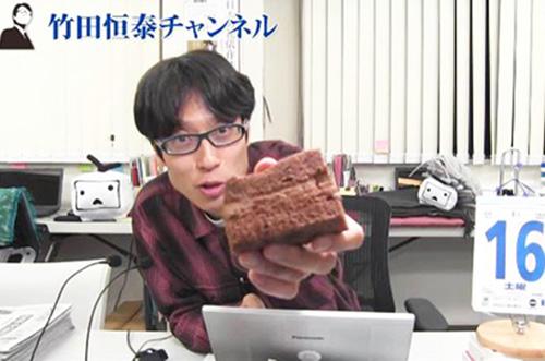 【ニコ生・竹田恒泰チャンネルさま】話題スイーツで番組を演出♪