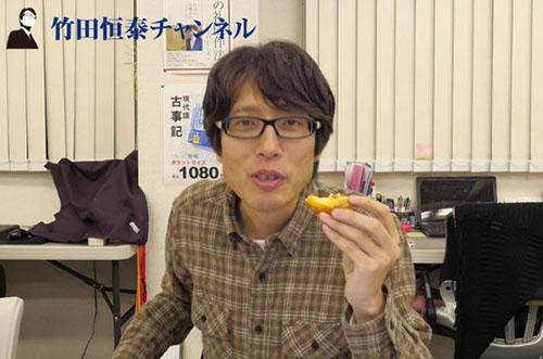 竹田恒泰さんが『本場を超えた!?』絶品エッグタルトを満喫