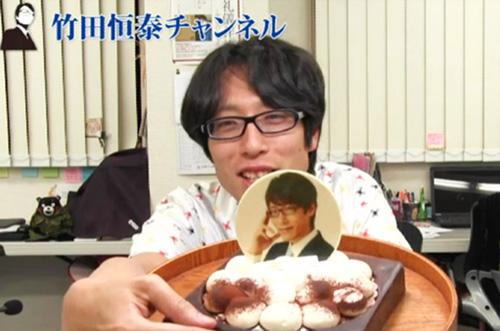 竹田恒泰さんが『竹田恒泰チャンネル』でこだわりスイーツ2種を紹介