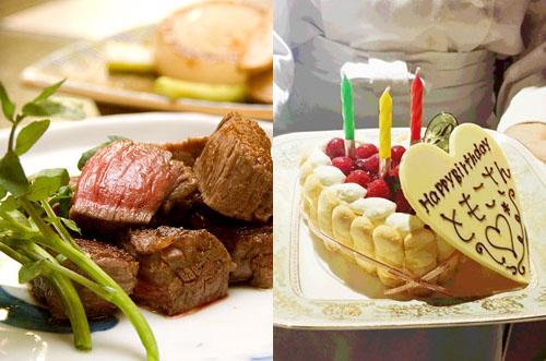 【銀座×ステーキ】若会席 大和館で楽しむ1ランク上の誕生日祝い