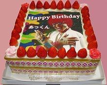 パーティー用写真ケーキ