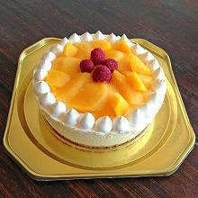 たっぷりマンゴーのアイスケーキ