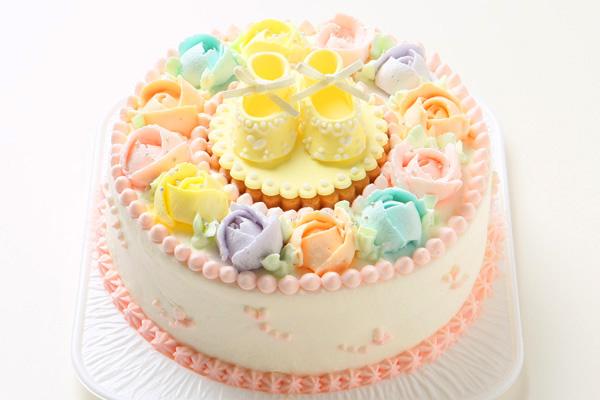 ベビーシューズケーキ 5号 15cmの画像5枚目