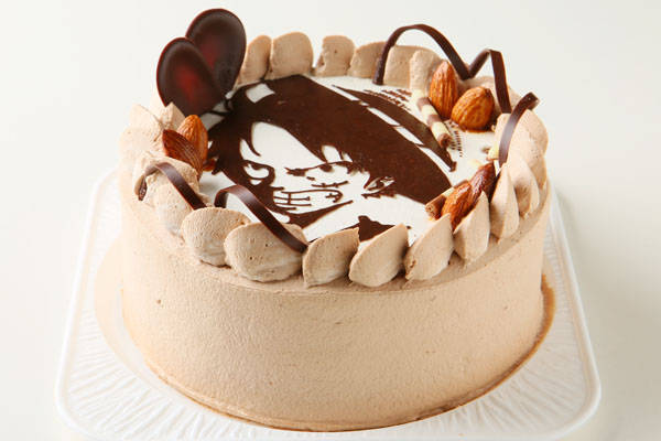 イラストケーキ 5号 15cmの画像2枚目