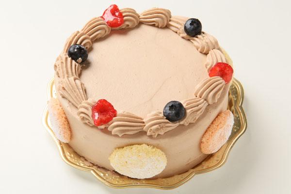 写真ケーキ 生チョコクリームタイプ(15cm) 5号の画像2枚目