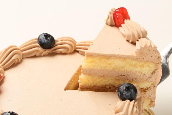 写真ケーキ 生チョコクリームタイプ(15cm) 5号の画像3枚目