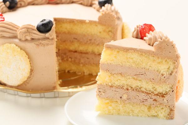 写真ケーキ 生チョコクリームタイプ(15cm) 5号の画像5枚目