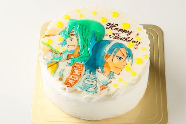 キャラクターイラストケーキ 4号 12cmの画像3枚目