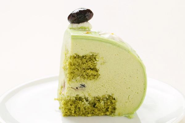 抹茶のケーキ 14.5cm×14cm×5cmの画像4枚目