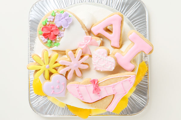 アイシングクッキーバースデーケーキ(イラスト) 4号の画像3枚目