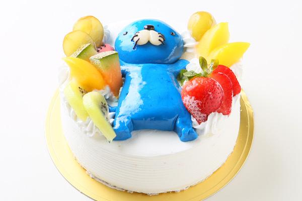 土台あり 立体キャラクターケーキ 5号 15cmの画像2枚目