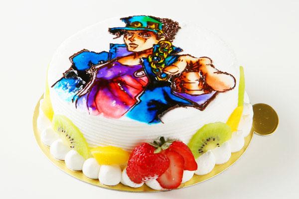 イラスト1体のみ お絵かきケーキ 5号 15cmの画像3枚目