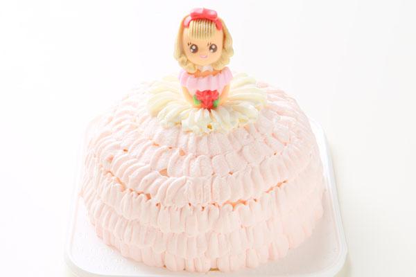 乳製品除去 豆乳クリームのドールケーキ 5号 15cm