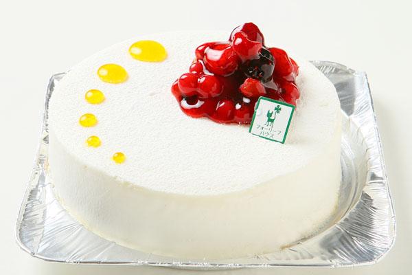 【1日限定2台!】沖縄県産シークァサーのレアチーズケーキ 5号