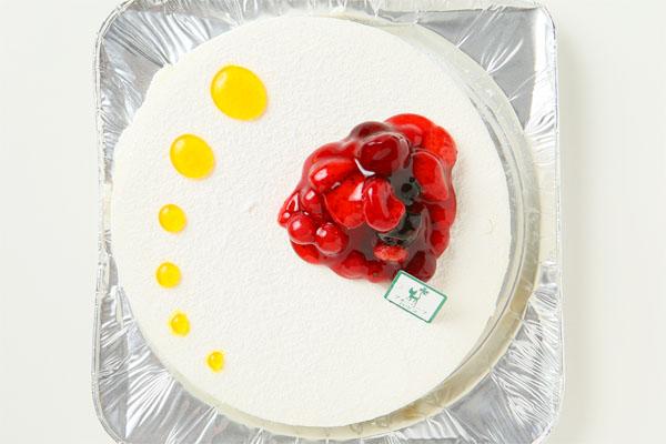 【1日限定2台!】沖縄県産シークァサーのレアチーズケーキ 5号の画像2枚目