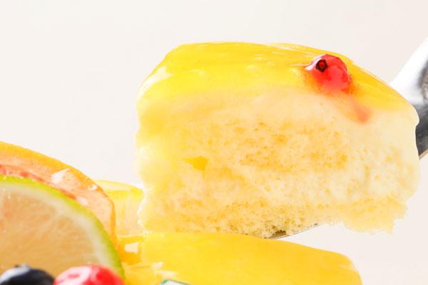 青切りシークァサーのアイスケーキ5号の画像3枚目
