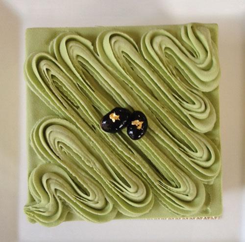 ヴェルデマーレ 〜ラテ緑色鮮やかな抹茶のアントルメグラッセ(アイスケーキ)〜 12cm(4~6人用)の画像3枚目